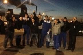 Семь человек задержаны на петербургском заводе «Антолин»