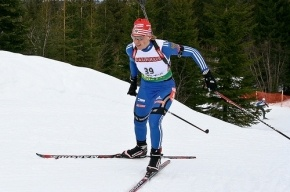 Зайцева выиграла серебро на этапе Кубка мира по биатлону