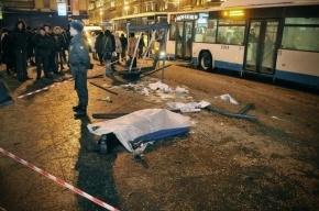 Автобус насмерть сбил женщину на западе Москвы