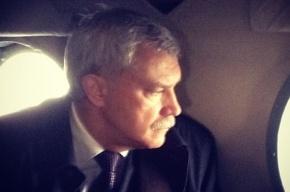 Полтавченко осмотрел Петербург с вертолета