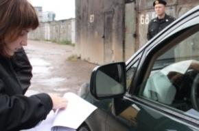 В Петербурге приставы прямо на дороге высадили должника из его «Мерседеса»