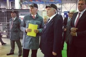 Полтавченко открыл завод MAN в Шушарах