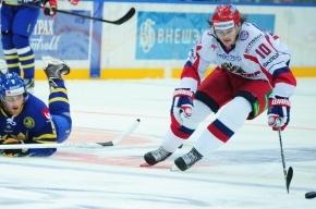 Россия обыграла Швецию в Евротуре со счетом 5:2