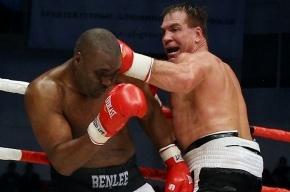 Российский боксер Маскаев победил британца Уильямса в Краснодаре