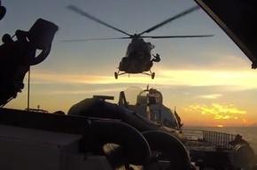Опубликовано видео захвата судна «Арктик Санрайз»