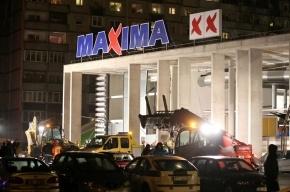 В Риге рухнула крыша супермаркета, 16 человек погибли