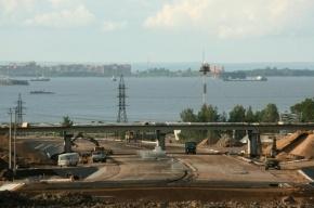 В Петербурге иномарка сбила рабочих на КАД, один человек погиб