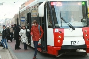 В трамваях и троллейбусах Петербурга до конца года появятся автоматы по продаже билетов
