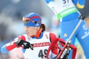 Биатлонистка Светлана Слепцова выиграла спринтерскую гонку на этапе Кубка IBU