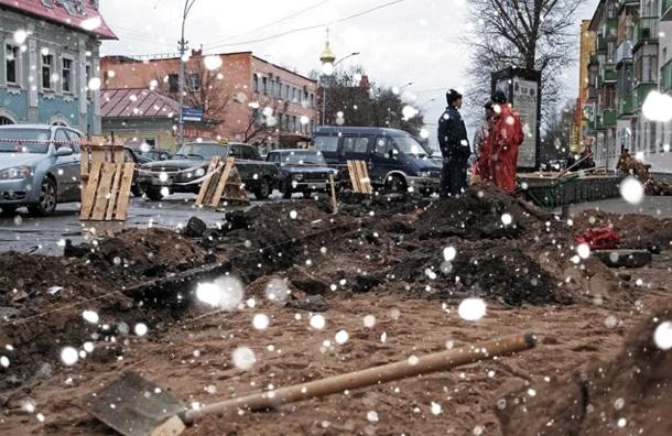 Благоустройство в Петербурге: разрыть и бросить