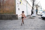 Фоторепортаж: «Акция Femen в Киеве 1 декабря 2013 года »