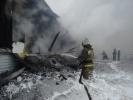 В Томске в сгоревшем инкубаторе птицефабрики найдены два тела : Фоторепортаж