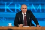 Фоторепортаж: «Пресс-конференция Путина 19 декабря 2013»