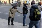Фоторепортаж: «Психологические эксперименты на Невском проспекте»