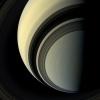 Сатурн и его спутники: Фоторепортаж