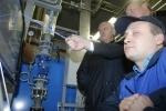 Фоторепортаж: «Полтавченко осмотрел газовую котельную»
