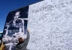 Фоторепортаж: «Стена памяти Пола Уокера»