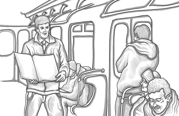 Торговцы в вагонах метро Петербурга forever