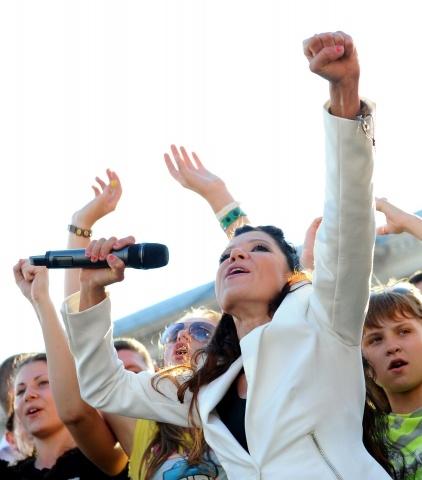 Певица Руслана Лыжичко: Фото
