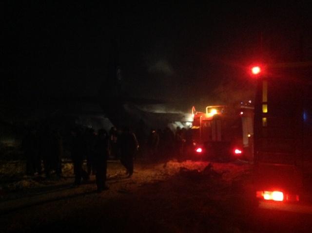 Фото разбившегося Ан-12 под Иркутском 26.12.2013 г.: Фото