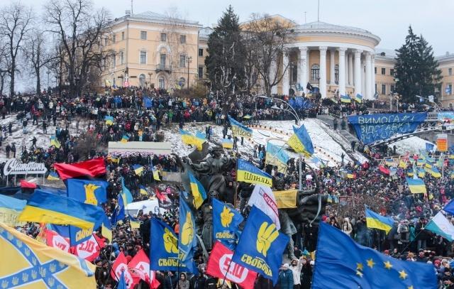 Евромайдан 11.12.2013: Фото