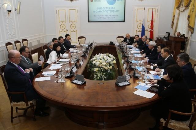 Встреча Полтавченко с инвесторами, 14 декабря 2013: Фото