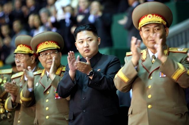 Чан Сон Тхэк и Ким Чен Ын: Фото