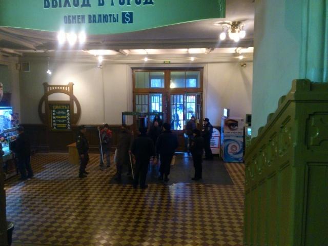 Вокзалы Петербурга 30 декабря 2013 г.: Фото
