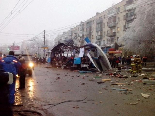 Взрыв троллейбуса в Волгограде 30.12.2013 года: Фото