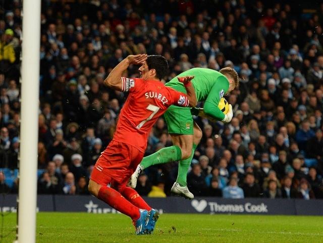 Матч АПЛ Манчестер Сити - Ливерпуль 26.12.2013 г.: Фото