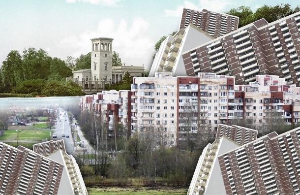 Жителям реконструируемого центра Петербурга готовят «отрезанный анклав» в Петергофе