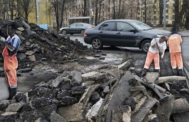 В Петербурге появилось гиблое место, где калечатся автомобили