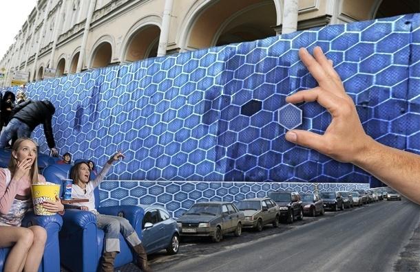 Петербург прощается с уродливыми и опасными синими заборами