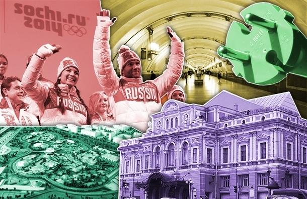 Главные события в России и Петербурге в 2014 году