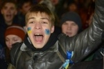 Митингующие взяли в осаду здание правительства Украины