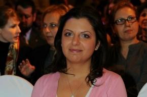 Главным редактором «России сегодня» назначена Маргарита Симоньян