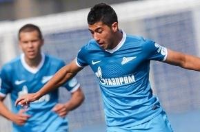 Игрок «Зенита» потерял сознание во время матча Юношеской лиги УЕФА