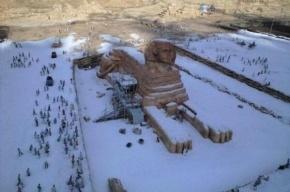 В Египте впервые за последние 100 лет выпал снег