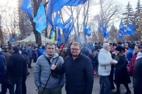 На «Антимайдане» в Киеве Милонова представили как Лимонова