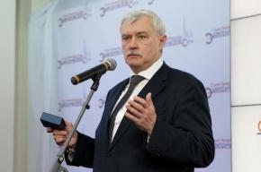 Полтавченко осмотрел две больницы, стадион, транспортную развязку и остался доволен