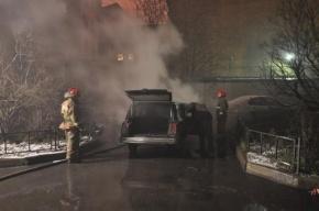 В Петербурге в сгоревшей машине найден труп полицейского