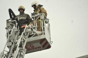 В Москве один человек погиб при пожаре в строительной бытовке