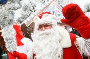 Дед Мороз остановит движение троллейбусов по Невскому проспекту на два часа