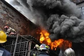 При пожаре в строительной бытовке на северо-востоке Москвы погибли пять человек