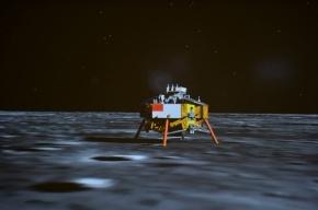 Китайский лунный заяц сел на Луну и передал первые кадры