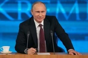Путину предложили стать пожизненным президентом
