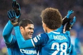 «Зенит» победил «Урал» в матче Чемпионата России по футболу
