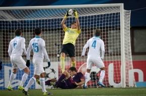 «Зенит» вышел в плей-офф Лиги чемпионов, проиграв «Аустрии»