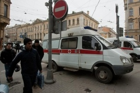 В Подмосковье в ДТП погибла женщина, врезавшись в автомобиль полиции