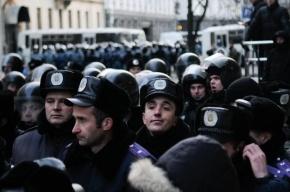 В Киеве на очередной акции протеста собралось около 200 тысяч человек
